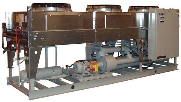Air-Cooled Outdoor Packaged Chillers from Budzar Industries
