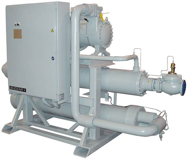 Central Water Cooled Chillers