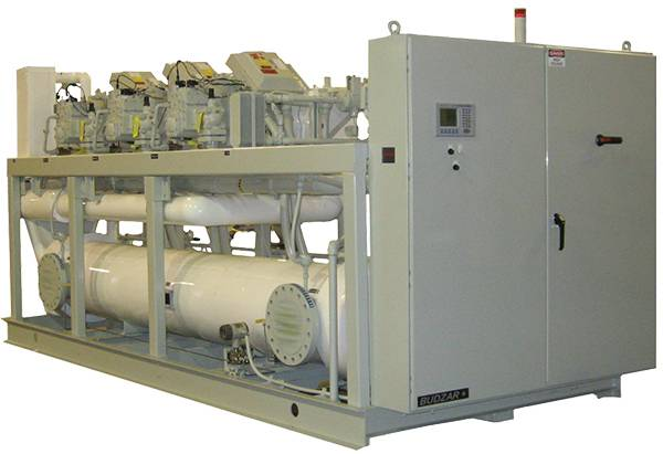 Low-Temperature Water-Cooled Chiller from Budzar Industries