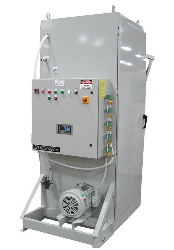 Mixer Oil Weigh Unit from Budzar Industries