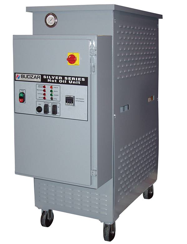 Silver Series Portable Hot Oil Unit from Budzar Industries
