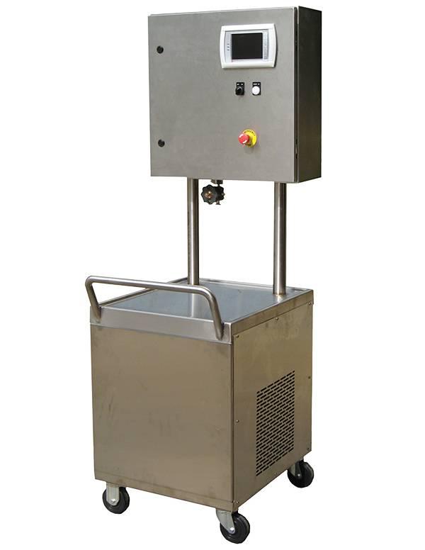 Steam Sampling Cart from Budzar Industries